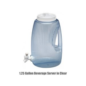 1.25 Gallon Beverage Server in Clear